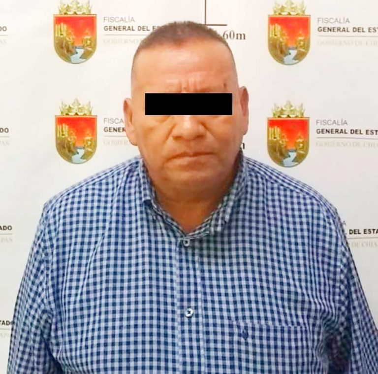 Detiene FGE a expresidente municipal de Pantelhó por abuso sexual agravado