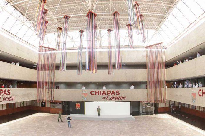 homenaje victimas de covid19 chiapas