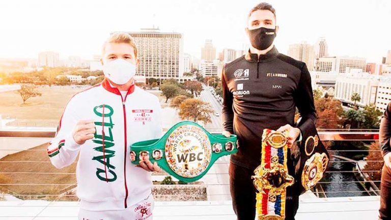 En un año inédito para el boxeo, Canelo Alvarez regresa al ring con 12,000 aficionados en medio de pandemia de COVID-19