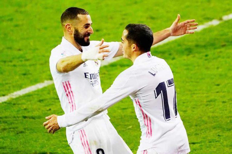 Con polémica por una mano de Sergio Ramos en el área, el Real Madrid le ganó al Eibar y es líder en España