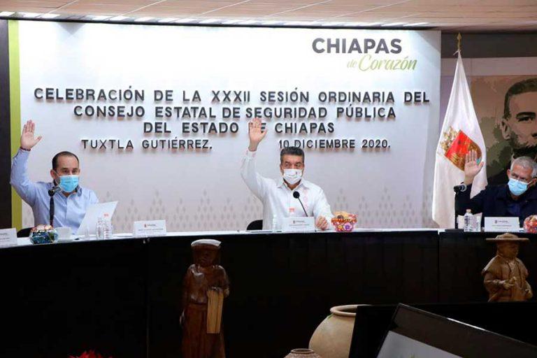 En Chiapas se trabaja de forma coordinada para proteger la integridad y salud del pueblo