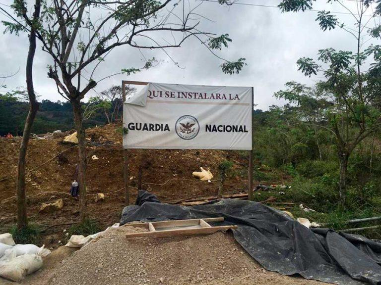 Insisten en suspender base de la Guardia Nacional en Chilón